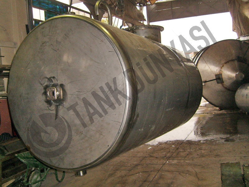 Liquid sugar and glucose Tanks - Stainless steel storage